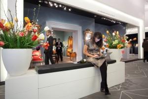 TEFAF 2014 - Devant le stand de Gierhards Antiques -Fine Art Copyright Loraine Bodewes