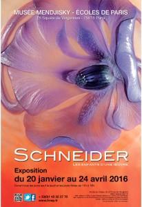 Affiche SCHNEIDER-Musée MENDJISKY